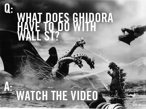 What does Ghidora have to do with Wall St?, From ImagesAttr