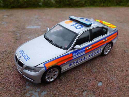 1 43 Code 3 Minichamps Bmw 330d Met Police Area Car Flickr