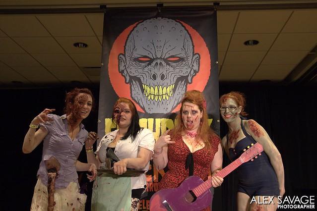 Zombie Pinups 2013