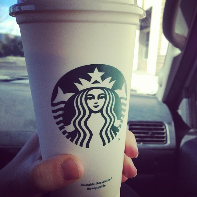 First americano in 3 weeks with cream. I lost 6lbs on the Challenge so it might have been worth the sacrifice. #whitecup