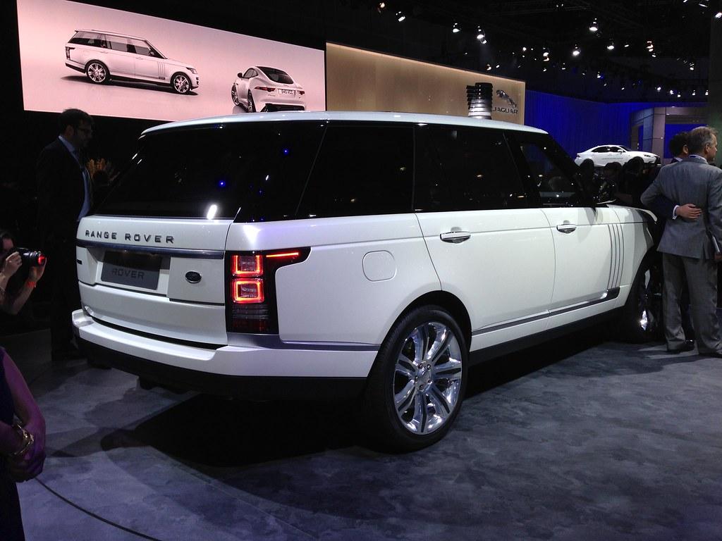 Range Rover Long Wheelbase >> 2014 Range Rover Long Wheelbase At The 2013 La Auto Show