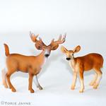 Plastic deer