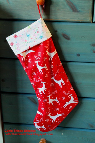Made Christmas Stocking