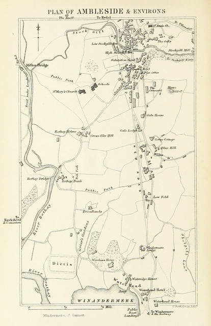 Image taken from page 32 of 'Guide to the Highways of the Lake district of  England. With maps and ... illustrations. Edited by J. G' | Co-Curate