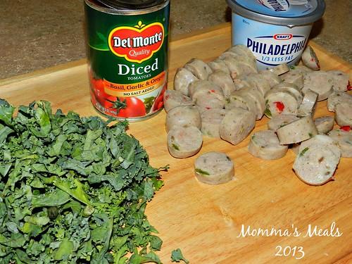 Creamy Tomato Pasta & Sausage (2)
