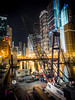 Construction Barge on the Chicago River by Chris Smith/Out of Chicago
