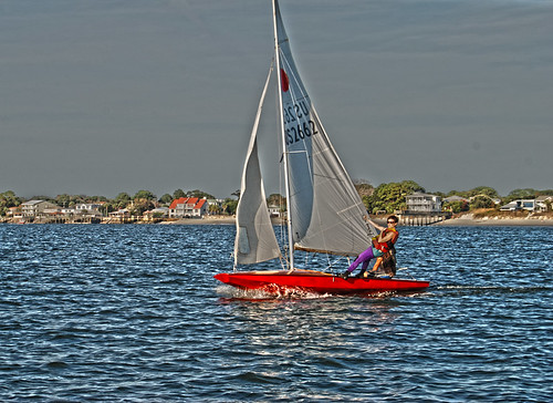 Sailing In The Tybee Back River