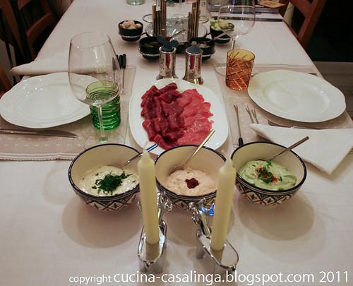 Fondue Tisch