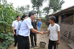 President Nakao visits ADB-financed urban project in the People's Republic of China