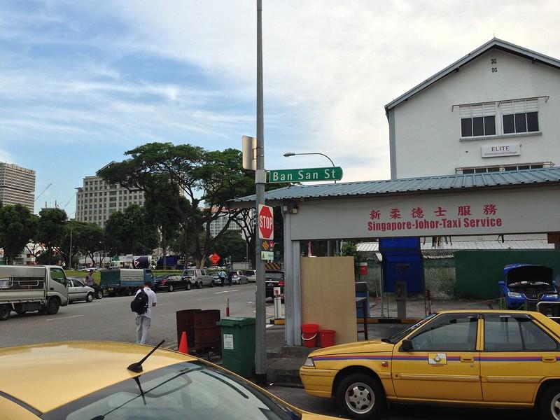 singapore-johor taxi