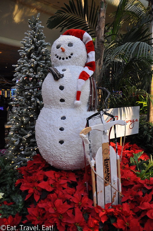 The Mirage Hotel and Casino- Las Vegas, NV: Holiday Decorations