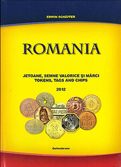 Romania tokens, tags and chips cover 2012