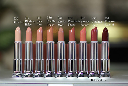 Maybelline Color Sensational The Buffs Lipsticks