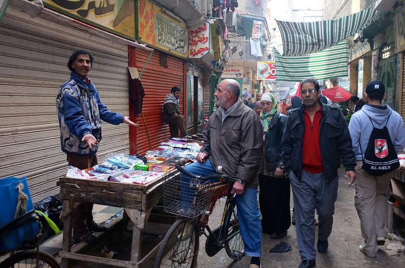 Ras El Bar market penjual
