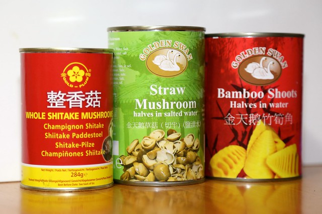 Tinned Chinese products