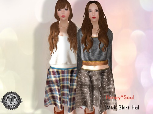 Honey*Soul Midi Skirt Hal Ad
