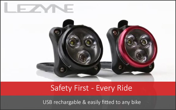 Safety First - this light for every ride