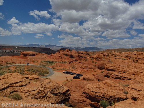 View from near the arch in Pioneer Park, St. George, Utah