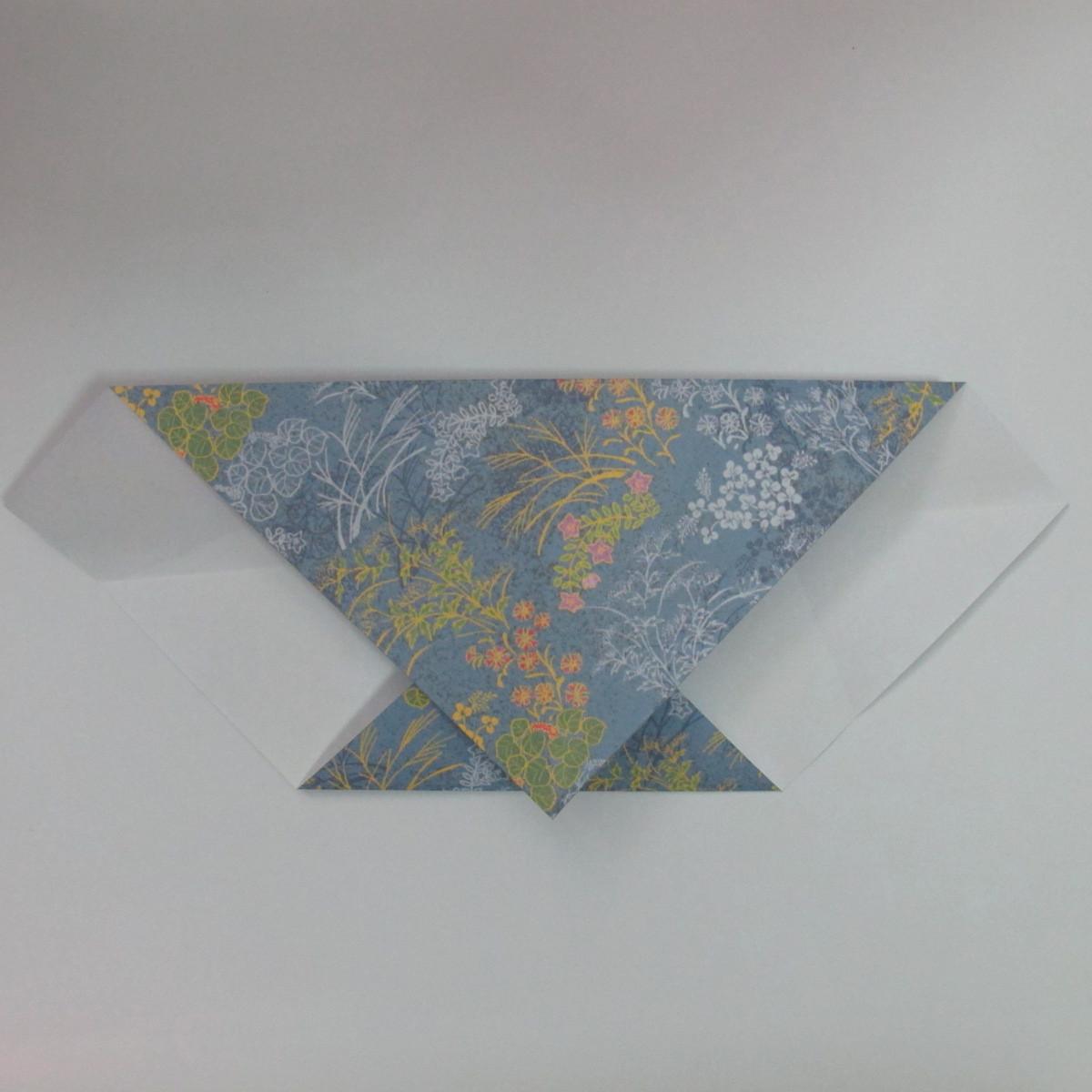 วิธีการพับกระดาษเป็นรูปม้า (Origami Horse) 011