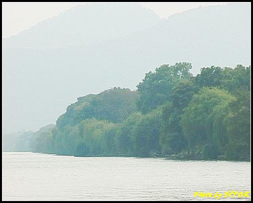 杭州 西湖 (其他景點) - 226 (從北山路 望向西湖十景之 蘇堤)