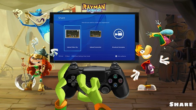 Rayman Legends PS 4 Share