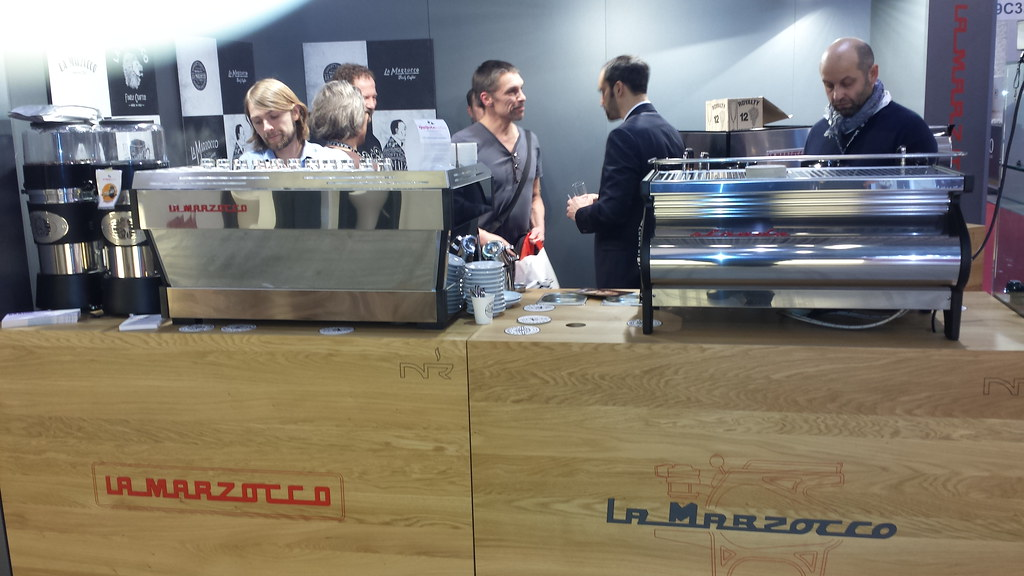 greetings from intergastra stuttgart la marzocco. Black Bedroom Furniture Sets. Home Design Ideas