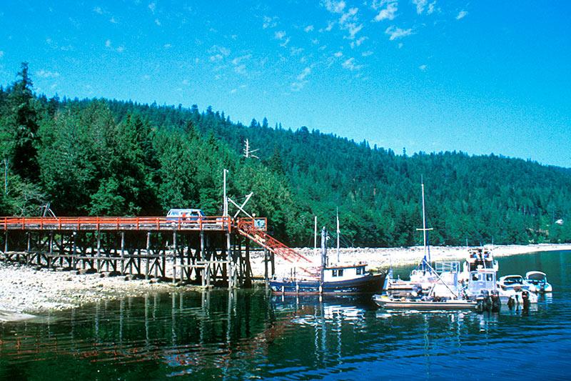 Okeover Arm Park, Okeover Inlet, Powell River, Malaspina Peninsula, Sunshine Coast, British Columbia, Canada