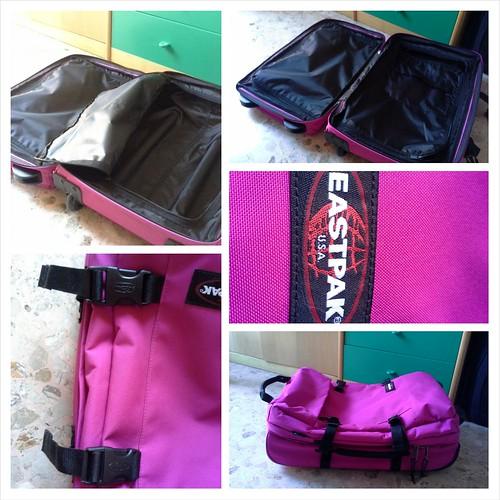 Confronto valigie: modello eastpak