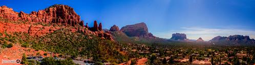 red arizona mountains landscape rocks view desert plateau tags panoramic sunglare canonef2470mmf28l blinkagain