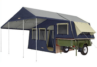 Trailer tent with extra room | TCT Magazine