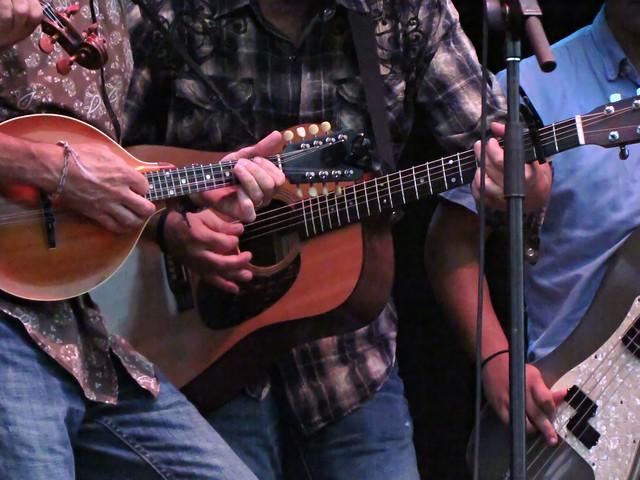 Mandolin, acoustic guitar, & bass