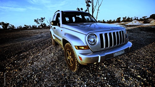 The Jeep at Lightning Ridge September 2013