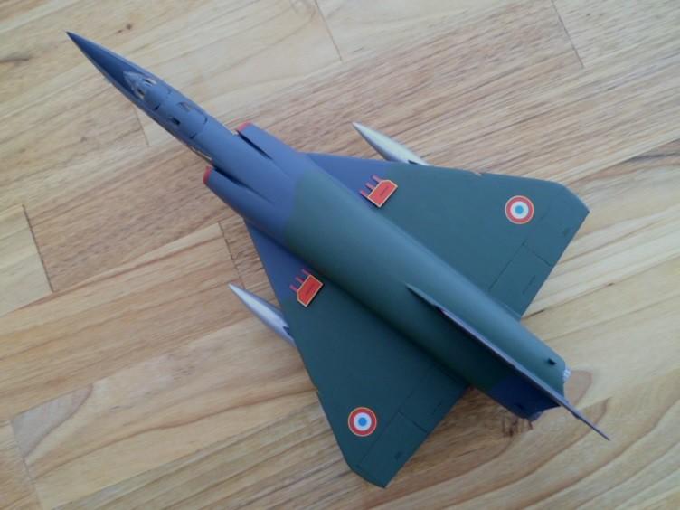 Numéro 56 [Heller Dassault Mirage IV A - 1/72] 12890257115_f1065db6bb_b