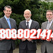 The 24 Hour Domestic and Sexual Violence Helpline has been jointly launched by the (left-right) Health Minster, Edwin Poots, Justice Minister, David Ford, and Social Development Minister, Nelson McCausland