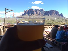 post hike Goldfield beer stop