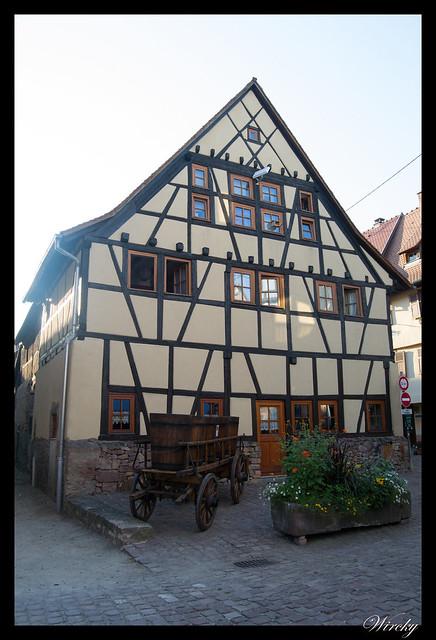 Casa típica alsaciana