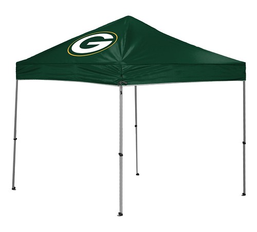 Green Bay Packers TailGate Straight Leg Canopy, 9' x 9'