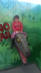Thomas at Godstone Farm Dinosaur Walk