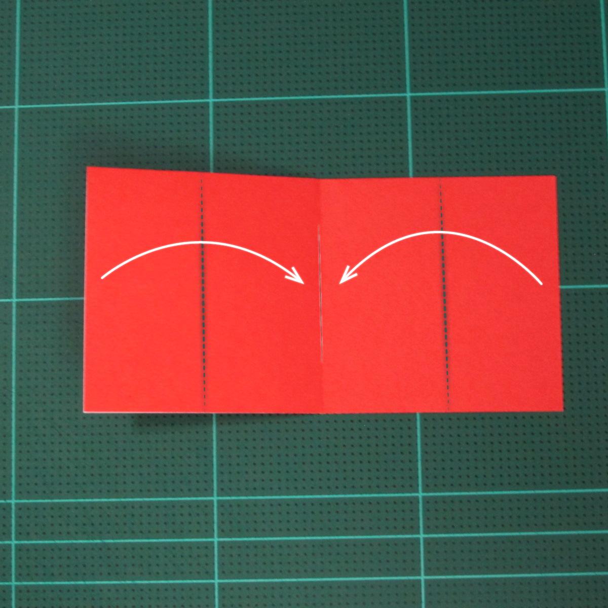 วิธีการพับกระดาษเป็นรูปเปียโน (Origami Piano) 004