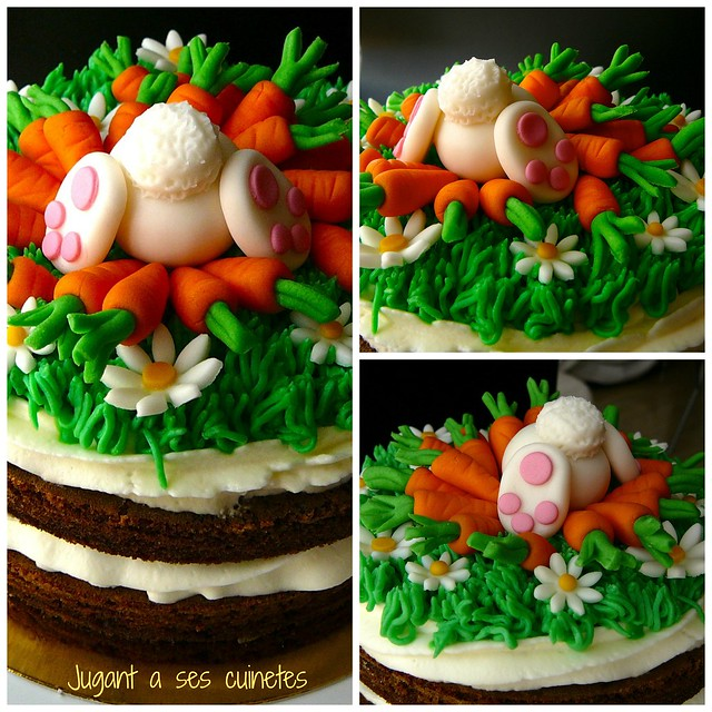 The Fuiest Carrot Cake Collage