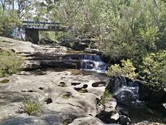 McCarrs Creek Bridge from Upper Gledhill Falls