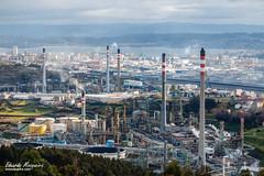 La refinería desde el Monticaño - Diurna