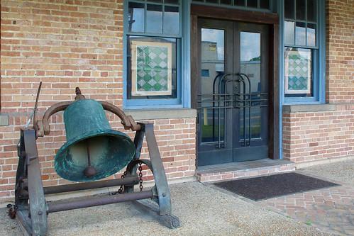 lousiana bogalusa railroad bell depot station