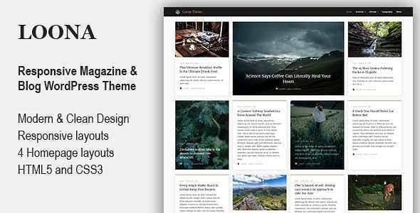 Loona WordPress Theme free download