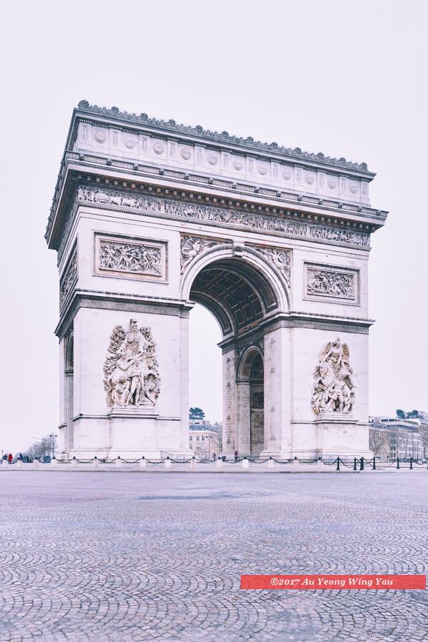 Arc de triomphe bus station map le de france mapcarta - Porte maillot coach station ...
