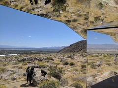 House of mirrors in the desert