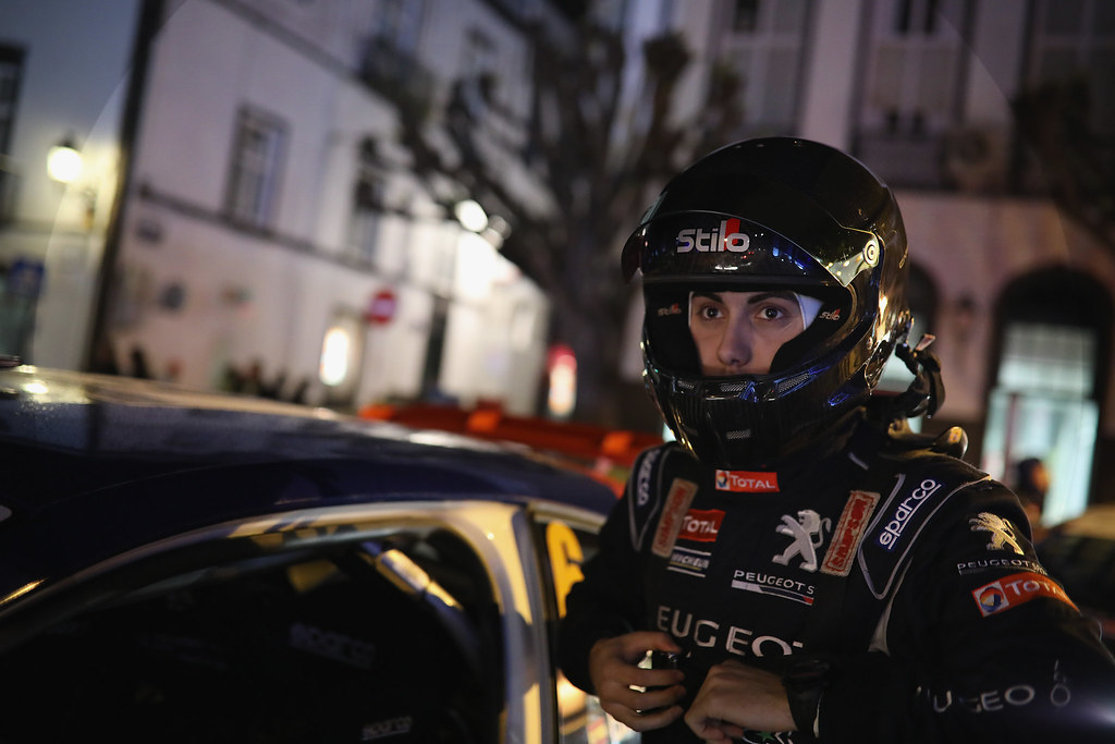 06 LOPEZ Jose Maria HERNANDEZ Borja Peugeot 208 T16 Ambiance Portrait during the 2017 European Rally Championship ERC Azores rally,  from March 30  to April 1, at Ponta Delgada Portugal - Photo Gregory Lenormand / DPPI