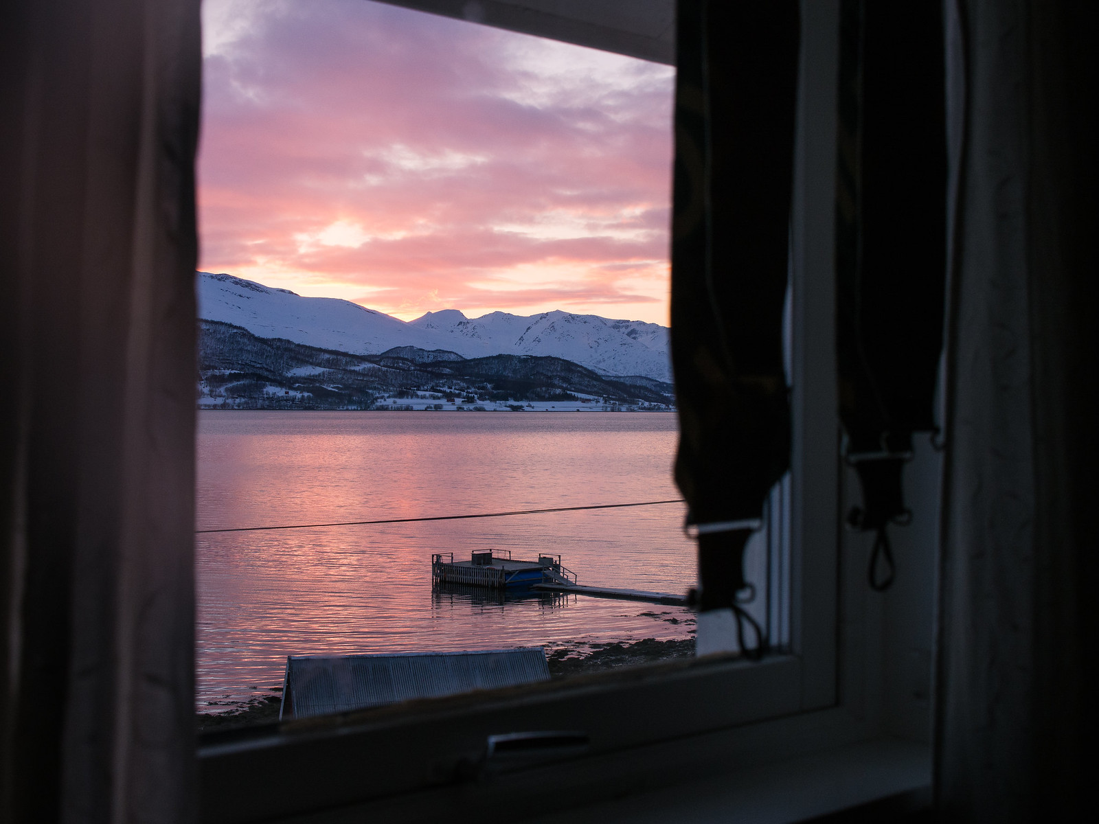 Näkymä Hestnes Gårdin makkarista