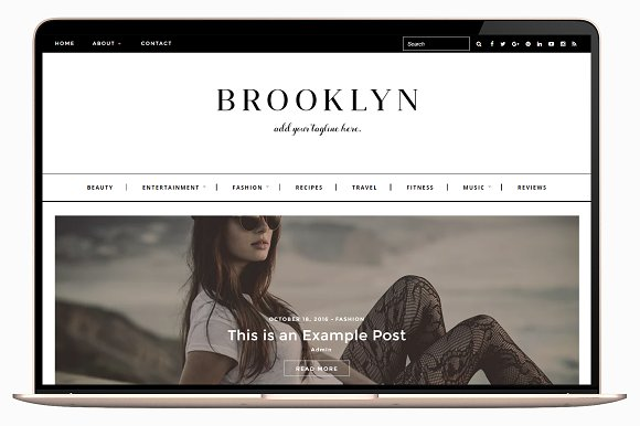 Brooklyn v1.0.2 - Responsive Wordpress Theme