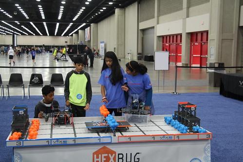 TEECS AT 2017 VEX ROBOTICS WORLD CHAMPIONSHIP IN KENTUCKY